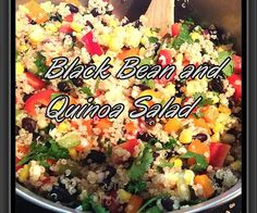 How to Make Black Bean and Quinoa Salad - Snapguide