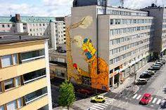 Street art in Pori, Finland. By Otto Maja
