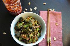 Sriracha Broccoli - yum!