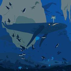 Underwater world by Nozickova on Etsy