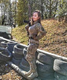 Military Women, Military Fashion, Russian Hotties, Maria Sharapova Photos, Warrior Girl, All The Things Meme, N Girls, Sexy Older Women, Sport Girl