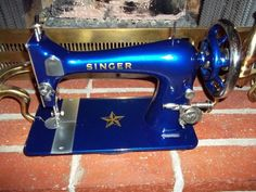 Electric Blue Singer