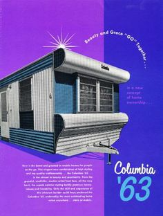 181 best vintage mobile homes images vintage travel trailers rh pinterest com