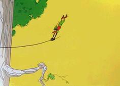 Yoinks and away!   Robin Hood Daffy