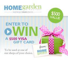 Win a $500 Visa Card!