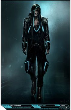 Concept Art from Tron Legacy