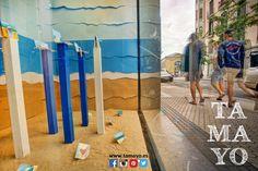 Parece verano en #Donostia #SanSebastian pero en #TamayoPapelería seguimos abiertos para tí. Además tenemos mañana Sábado un taller muy divertido para los más peques en el que jugaremos y aprenderemos a hacer cosas chulas con pasta de modelar... Te apuntas? Más info en nuestra web y redes sociales nuestro whatssapp y en la tienda en c/Legazpi 4. Plazas limitadas.