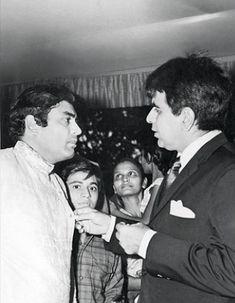 Sanjeev Kumar and Dilip Kumar.