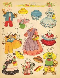 Paper Dolls~Old Woman In Shoe - Bonnie Jones - Picasa Web Albums