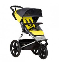 NEW Mountain Buggy Terrain Active to Urban 3 Wheel Jogging Stroller Solus maximum control, maximum performance We are auth. dealers for Mountain Buggy so y Running With Stroller, Jogging Stroller, Scooters, Mountain Buggy, Scooter Girl, Baby Jogger, Travel System, Baby Boots, Bugaboo