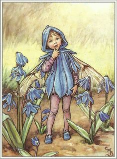 """The Scilla Fairy"" by Cicely Mary Barker"