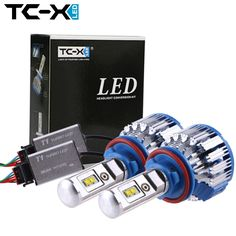 TC-X LED Car Headlight Bulbs H11 H1 H7 H3 HB3/9005 HB4/9006 880 12V Super Bright Halogen Replacement Auto Lights Conversion Kit -- Locate the offer simply by clicking the image