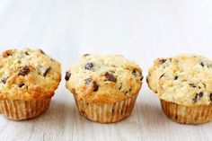 Muffins choco-banane! 190 calories / 28g glucides / 3g protéines / 7g lipides