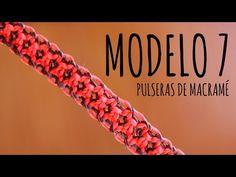 ▶ Modelo 7 / Pulseras de macramé ♥ - YouTube