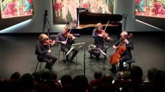 "danish string quartet plays ""woodworks"" - YouTube"