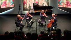 "danish string quartet plays ""woodworks"" - YouTube"