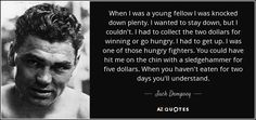 TOP 21 QUOTES BY JACK DEMPSEY | A-Z Quotes