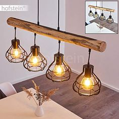 Hanging Light Bulbs, Rustic Pendant Lighting, Wood Pendant Light, Edison Lighting, Orangerie Extension, Lights Over Dining Table, Pendulum Lights, Kitchen, Home Improvement Projects