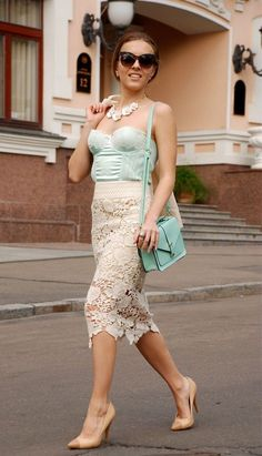 Corset Tops Trends as Outerwear Street Style - Trend2Wear - Total Street Style Looks And Fashion Outfit Ideas