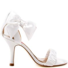 White 1 Inch Heels | Tsaa Heel