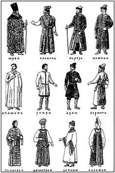 16th century Russia styles