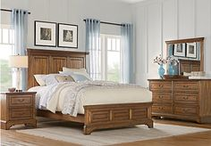 Sabine Brown 5 Pc Queen Bedroom. $645.00.  Find affordable Bedroom Sets for your home that will complement the rest of your furniture.