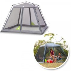 Canopy-Screen-House-Tent-Camping-Instant-Shelter-Mosquito-Shade-Outdoor-Bug-Park