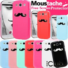 Green Moustache case for my Phone :)