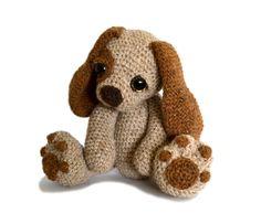 Cachorro perro Amigurumi Crochet patrón PDF descarga