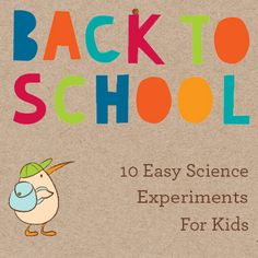 BTS Science Experiments