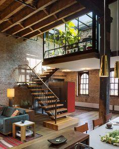 Tribeca Loft designed by Andrew Franz Architect _________ Location: #NewYork Photot by Albert Vecerka