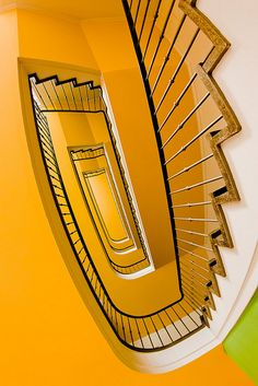 A staircase in Dresden, Germany by Philipp Götze