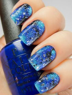 Galaxy Nails from Outer Space!