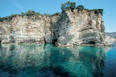 The Seal Cave(Fokotrypa) at Kastos, Lefkada, Greece