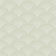 Papier Peint Feather Fan Vert Olive Collection Icons De Cole And