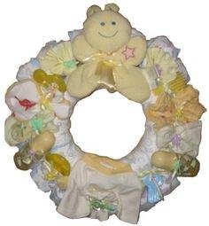wreath for baby shower | Via Kennilyn Chisholm