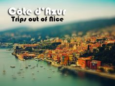 Nice in France and the whole French Riviera, or Cote d'Azur are the best locations to spend a summer holiday. Day trips from Nice can be taken easily.