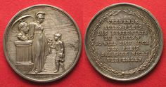 1820 Haus Habsburg - Medaillen Austria FRANZ I Silver medal by Heuberger aUNC! # 94078 AU ✓ Coins and Coin Collecting ✓ MA-Shops warranty with certified dealers ✓ Coins, medals and banknotes from ancient to modern.