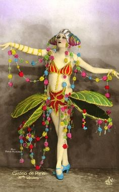 Folie bergere  butterfly fairy