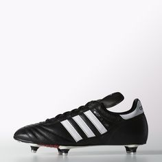 adidas World Cup - a classic design, crafted with the highest quality materials and screw-in studs.