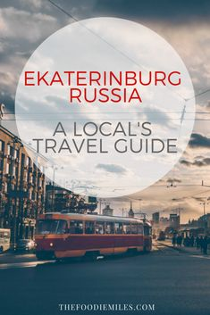 An insider's travel guide to Ekaterinburg, Russia #russia #russiatravel #fifa2018 #ekaterinburg