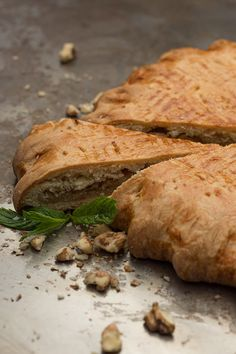 Traditional Armenian gata is sweet dessert and, I suppose, the most popular Armenian cookies recipe. It looks like pies with vanilla filling or puff pastry.
