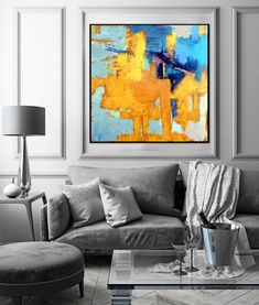 """Price from: $180 Large Original Abstract Painting On Canvas, Abstract Textured  TG050 Square painting Size from: 22"""" x 22""""   handmade Acrylic from Studio Trend Gallery#abstractpainting #largecanvasart #largeabstractart #originalartwork #originalart #abstractcanvas #texturepainting #homedecorart  #roomdecor #roomdesign #livingroomdecor #wallart #wallartdecor #wallartprint Large Canvas Art, Abstract Canvas, Abstract Paintings, Canvas Wall Art, Wall Art Prints, Original Artwork, Original Paintings, Texture Painting, Wall Art Decor"""