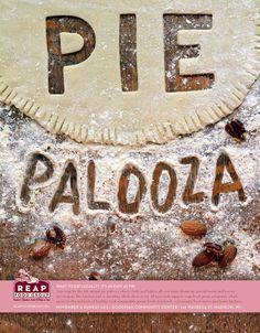 Pie Palooza by Richard Von Arthur LaRue, via Behance #type #design
