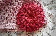 Tutorial Flor Crochet ❥Teresa Restegui http://www.pinterest.com/teretegui/❥