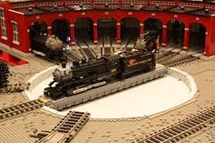 cool lego trains - Google Search
