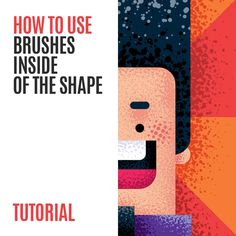 How to use Brushes in Adobe Illustrator CC – Tutorial - Digitale Illustration Web Design, Graphic Design Tutorials, Tool Design, Vector Design, Site Design, Adobe Illustrator Tutorials, Photoshop Illustrator, Illustration Design Plat, Illustration Styles