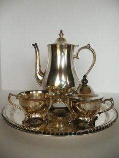Plated Tea Service .... post xmas?