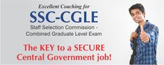T.I.M.E. Classroom & Correspondence Coaching for SSC CGL. Know here SSC CGL Notification 2014,SSC CGL Exam Dates,Eligibility,Syllabus,Cut-Off,Previous Papers.