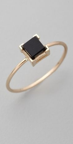 black and gold ring, love